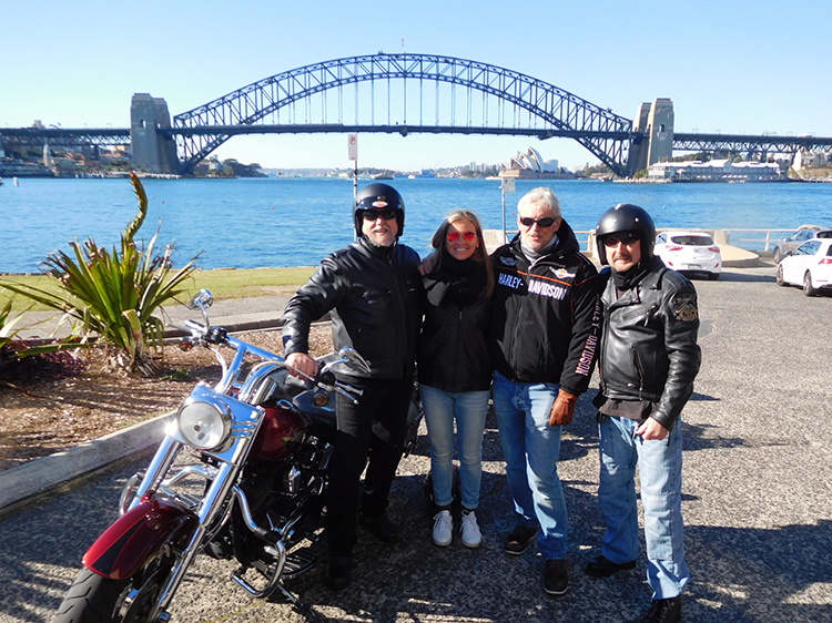 Harley tour Sydney Australia