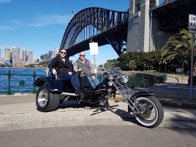 trike tour exploring Sydney
