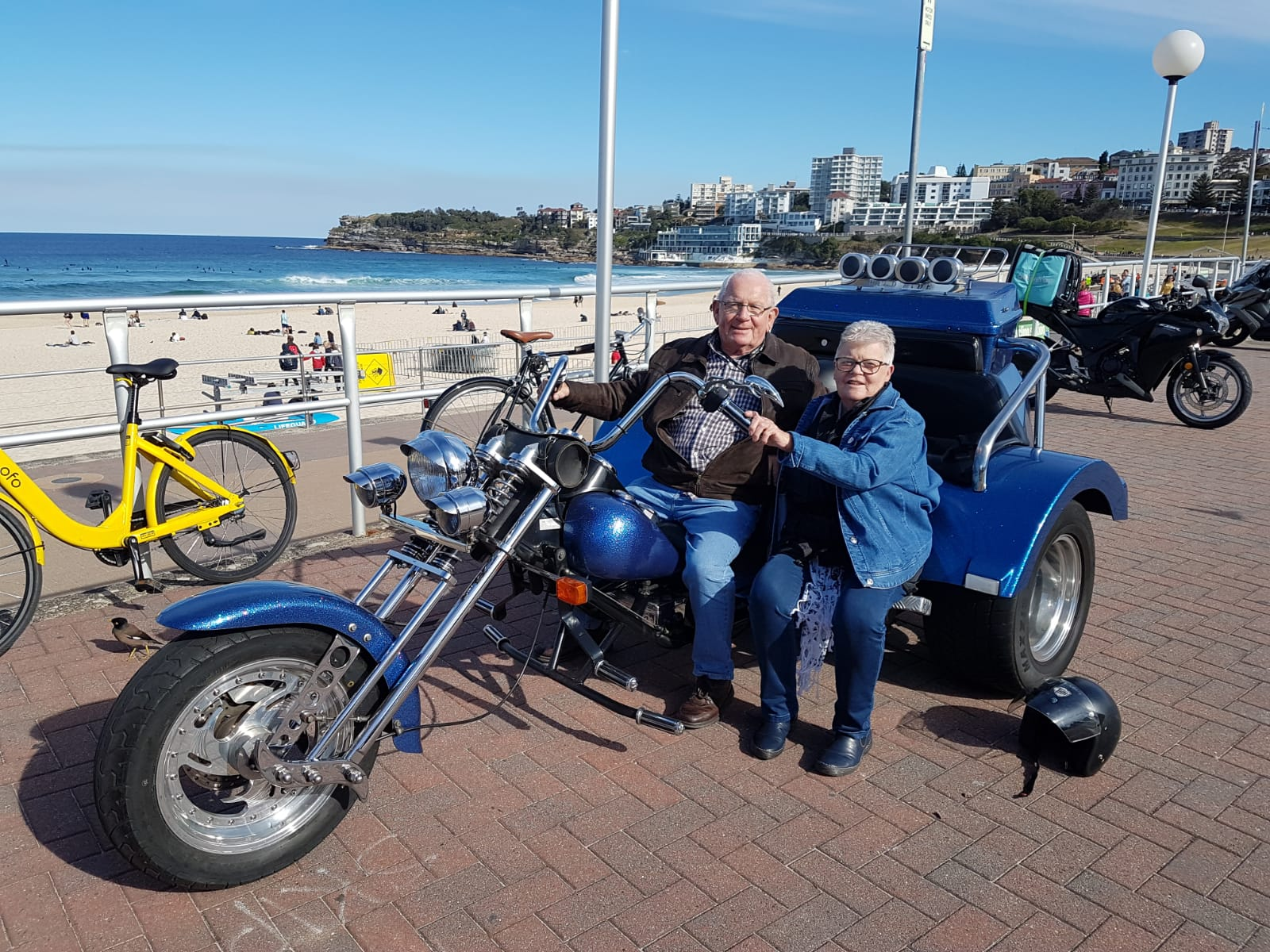 trike tour to celebrate 40th birthday and wedding anniversary