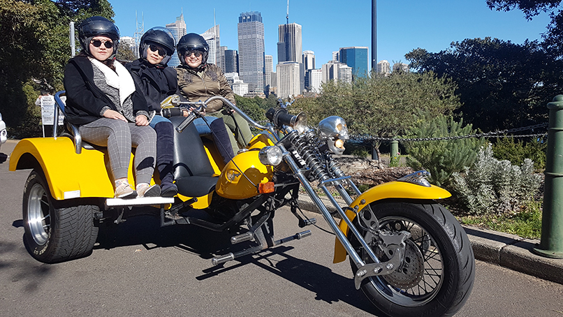 trike tour while visiting Sydney