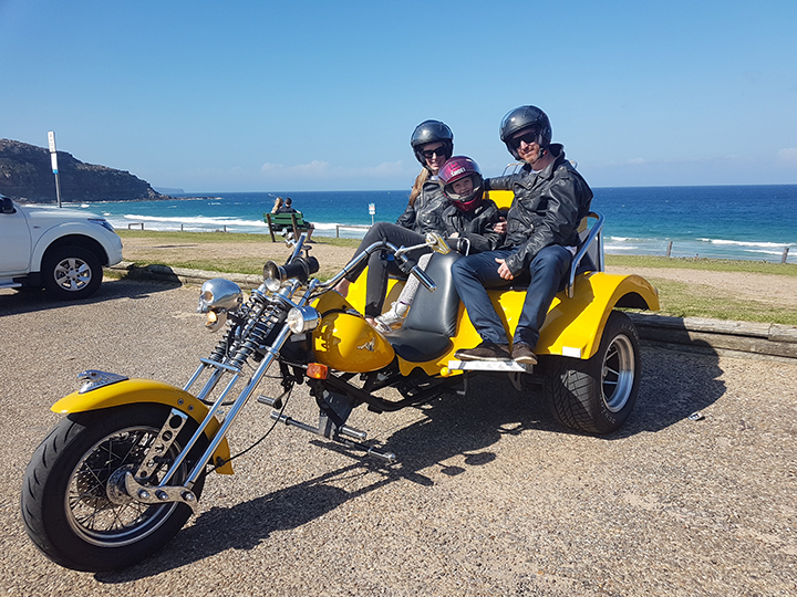 Beach Beauty Trike tour Sydney
