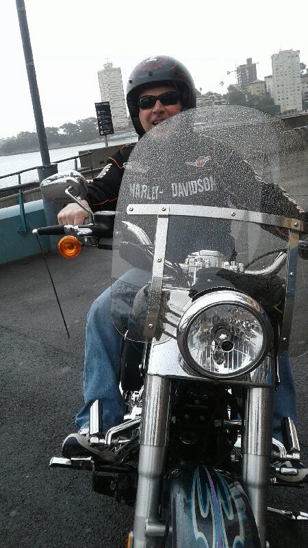 Harley tour around Sydney Bucket List