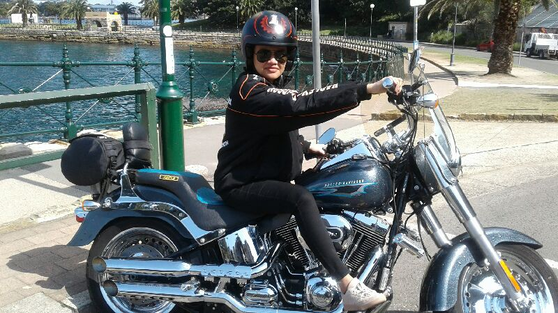 Harley tour around the 3 Bridges Sydney