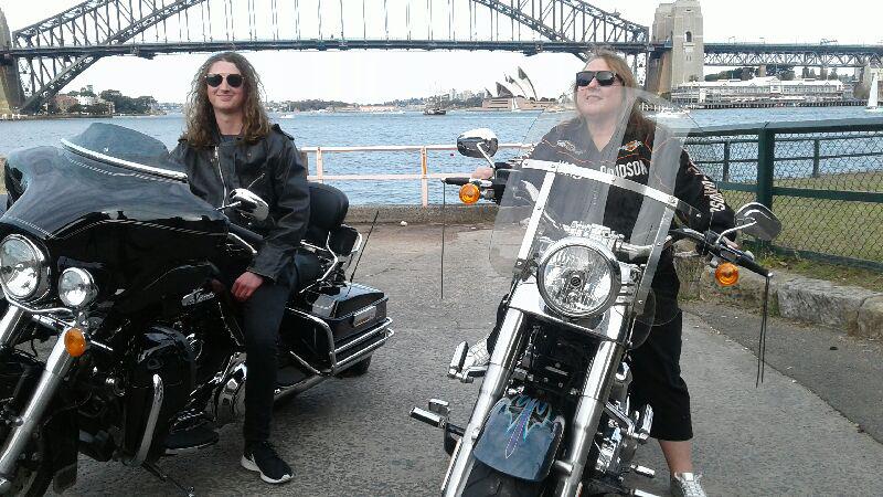 Harley tour for 21st birthday celebration