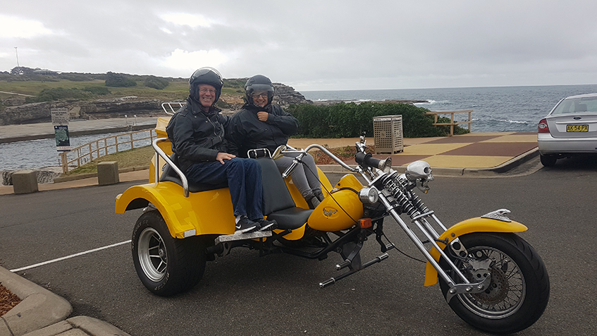 trike tour Bondi Beach and Watsons Bay