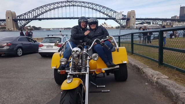 trike tour around the 3 bridges