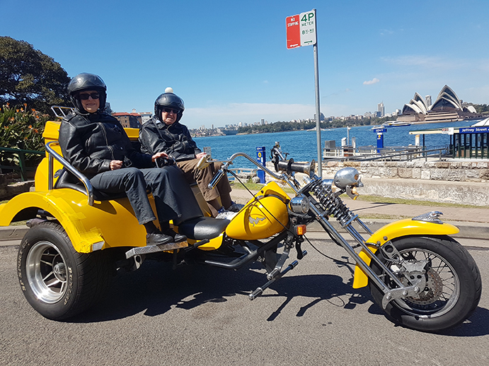 trike tour for 90th birthday