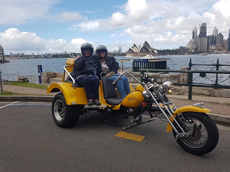 3 Bridges trike tour for 70th birthday