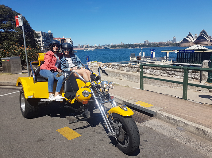 birthday trike ride Sydney