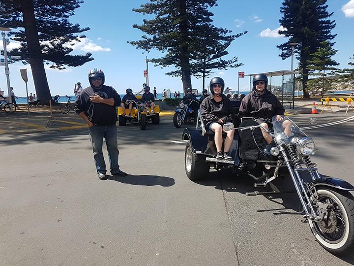 trike tour Manly to Bondi Beach Sydney