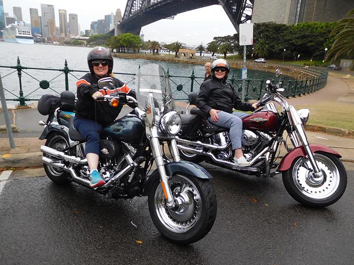 Harley 3 Bridges tour