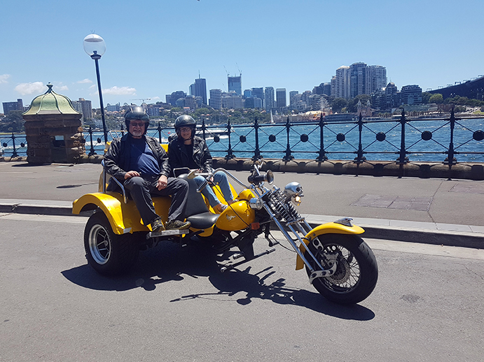 50th wedding anniversary trike tour