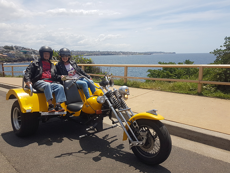 90th birthday trike ride