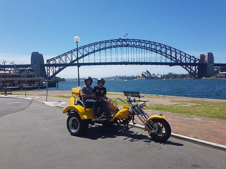 Sydney Harbour Bridge trike ride