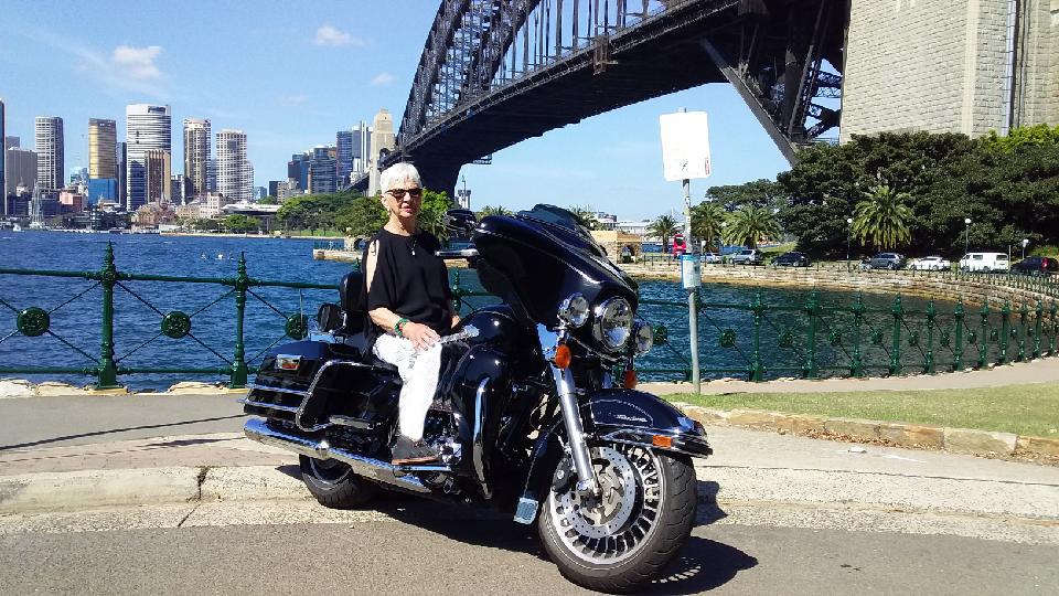 Harley tour around Sydney