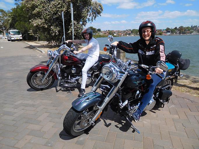Harley birthday ride