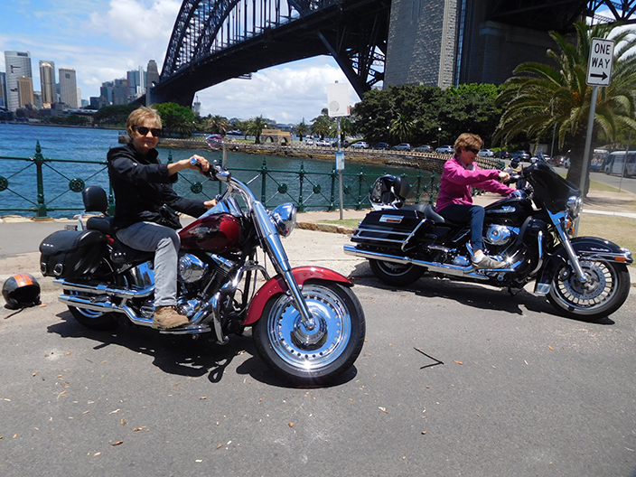 Harley tour Maroubra to Manly