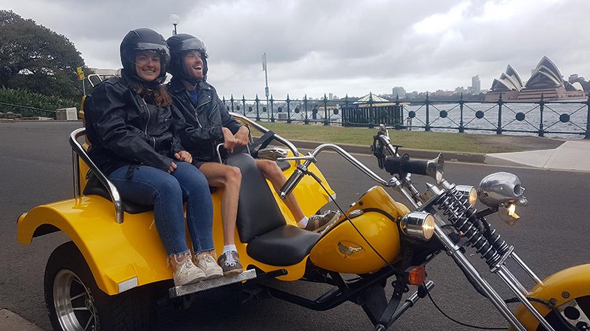 trike ride Eastern Sydney