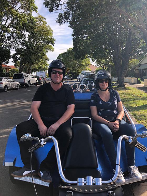 trike ride transfer