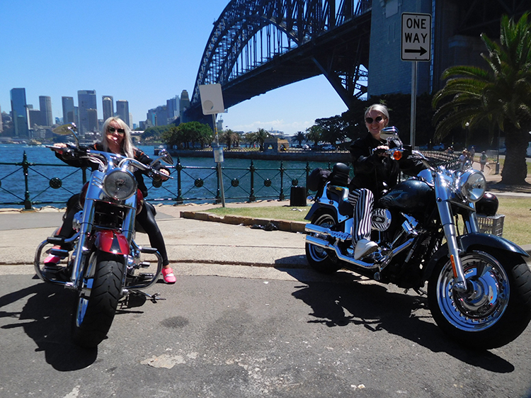 3 bridges Harley ride