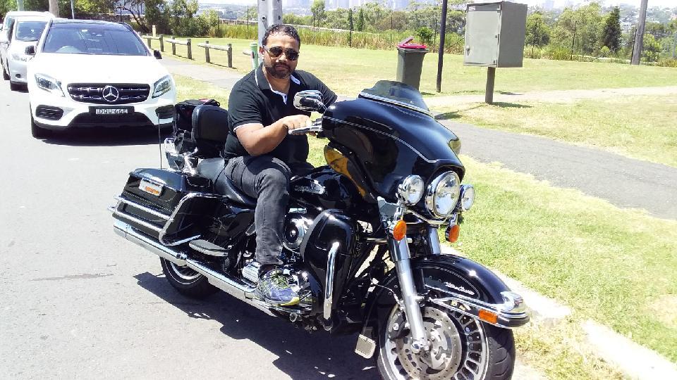 Sydney Harley tour