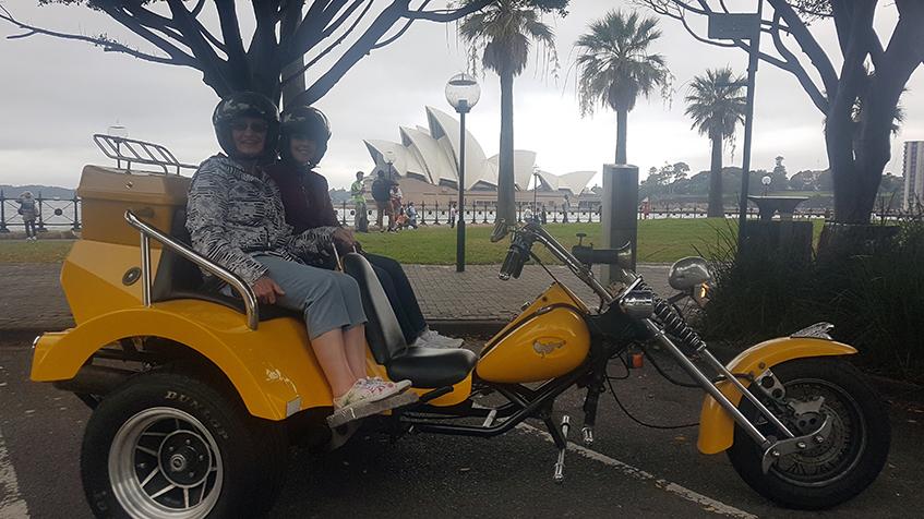Sydney Opera House trike tour