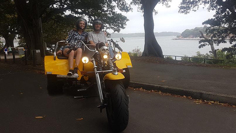 Sydney Australia trike tour