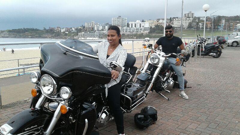 Harley tour Bondi Beach