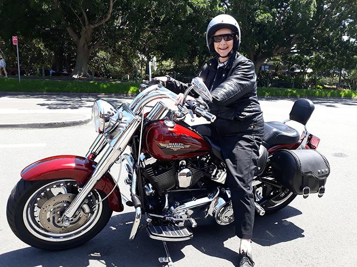 Harley tour birthday surprise