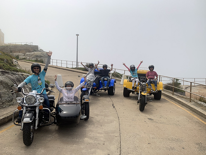 trike and sidecar tour