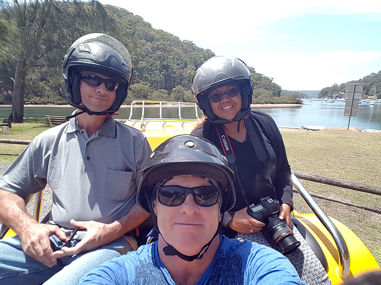 trike tour Northern beaches