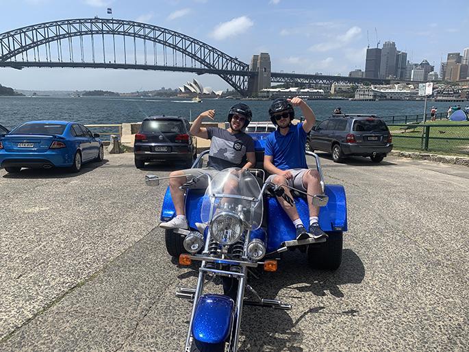 trike tour of Harbour Bridge