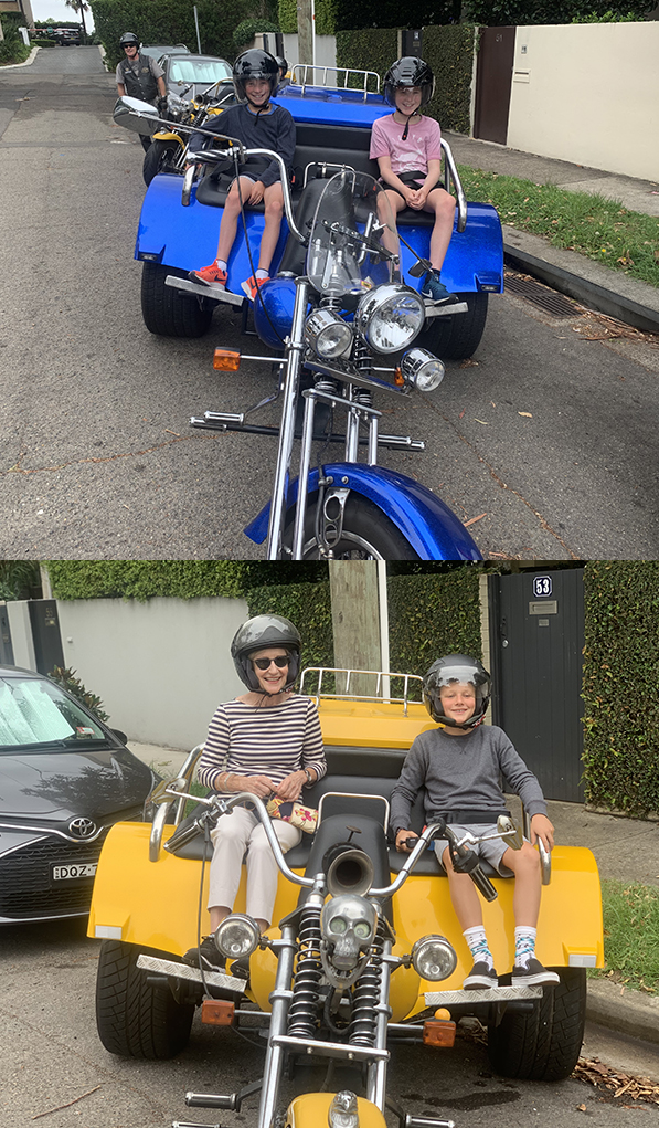 school holiday trike experience
