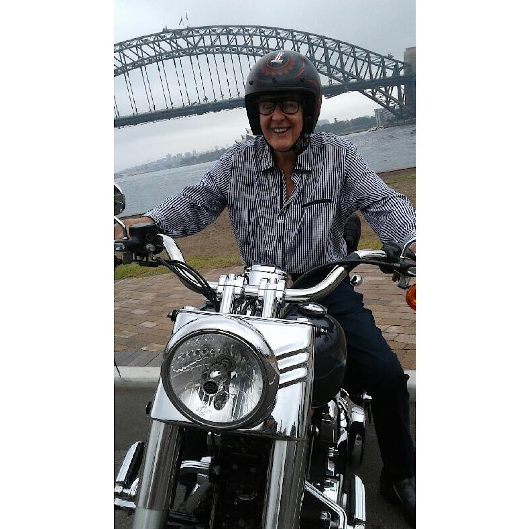 83rd birthday Harley tour