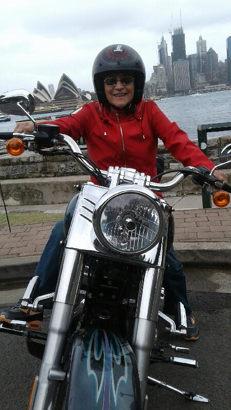 birthday Harley Davidson ride