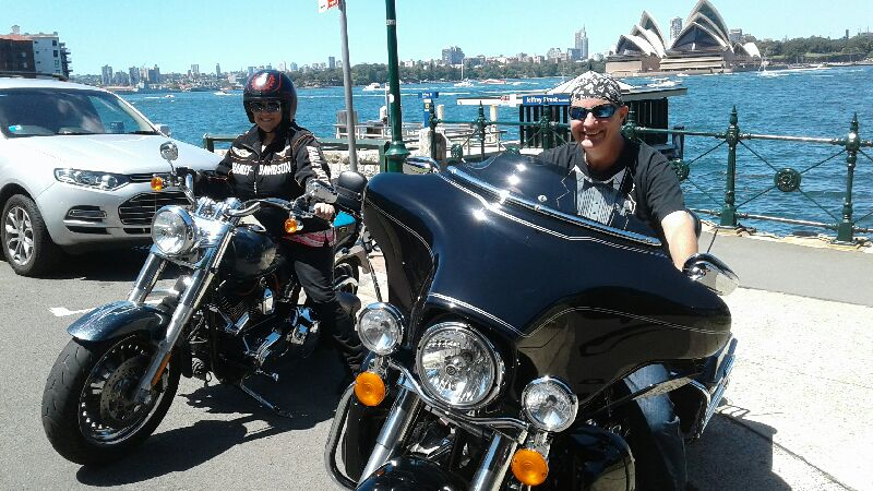 50th birthday Harley tour