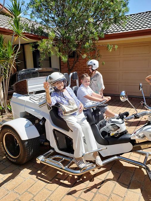 90th birthday party trike transfer