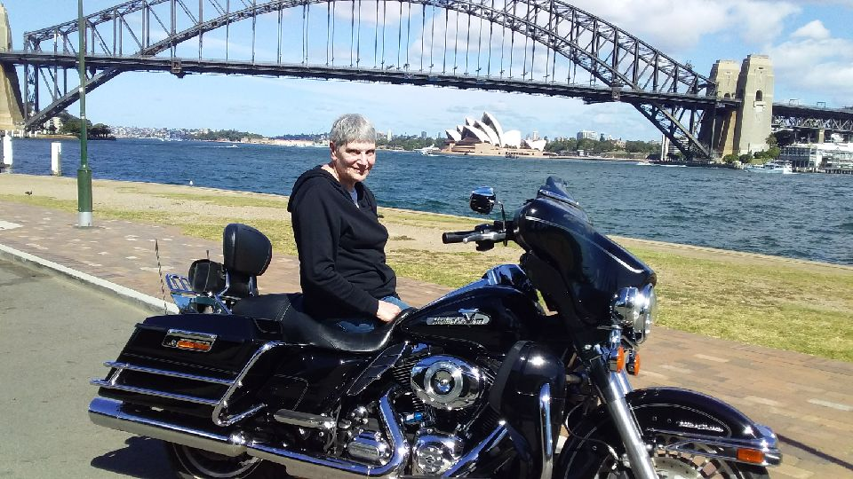 Sydney city Harley tour