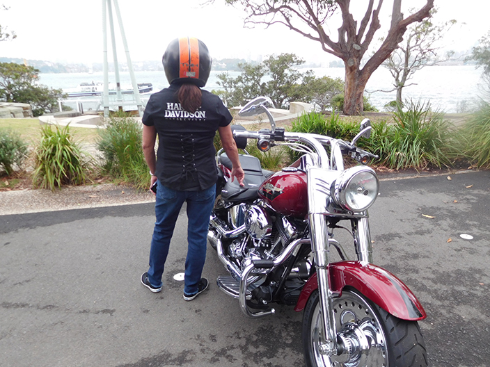 Northern beaches Harley ride