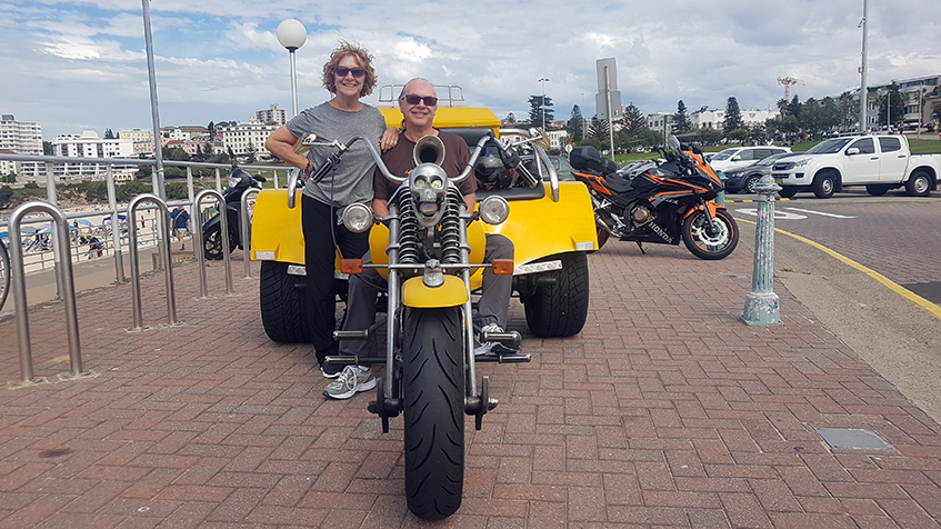 50th wedding anniversary trike tour