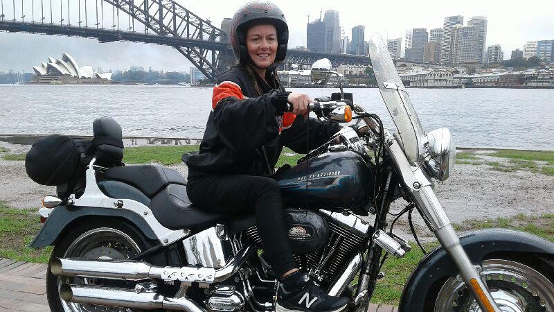 Harley tour through Sydney city