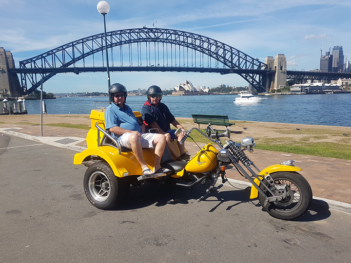 50th birthday trike ride