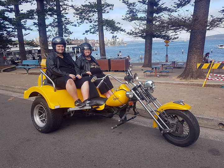 60th birthday trike fun
