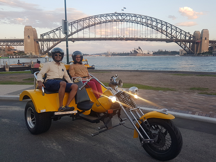 Harbour Bridge trike tour