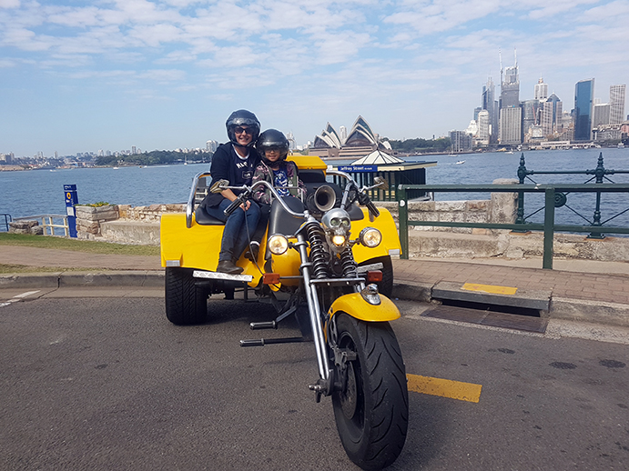 school holidays trike tour