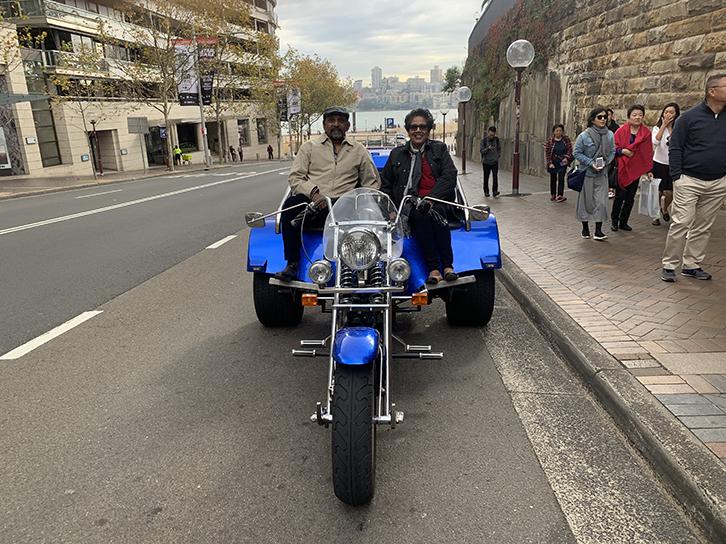 Bondi Beach trike tour
