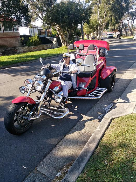 southern adventure trike tour