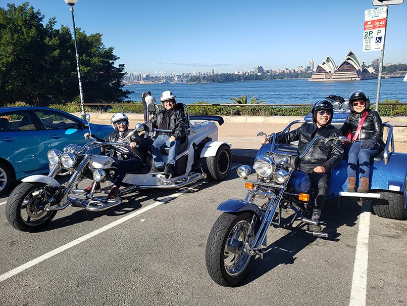 Sydney scenic trike tour
