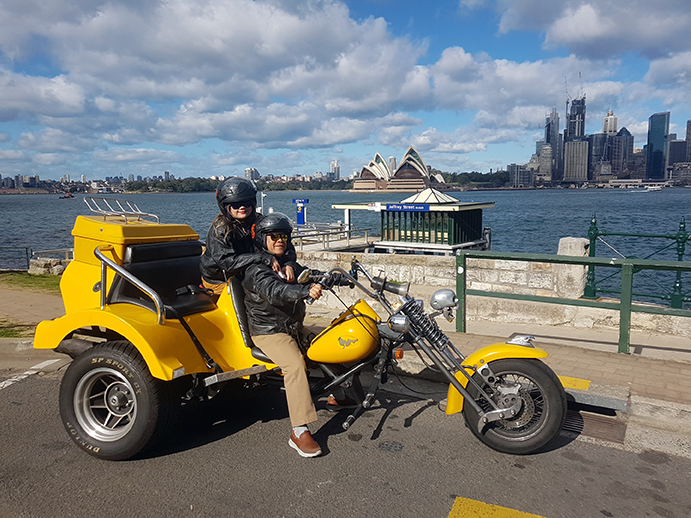 surprise trike ride Sydney