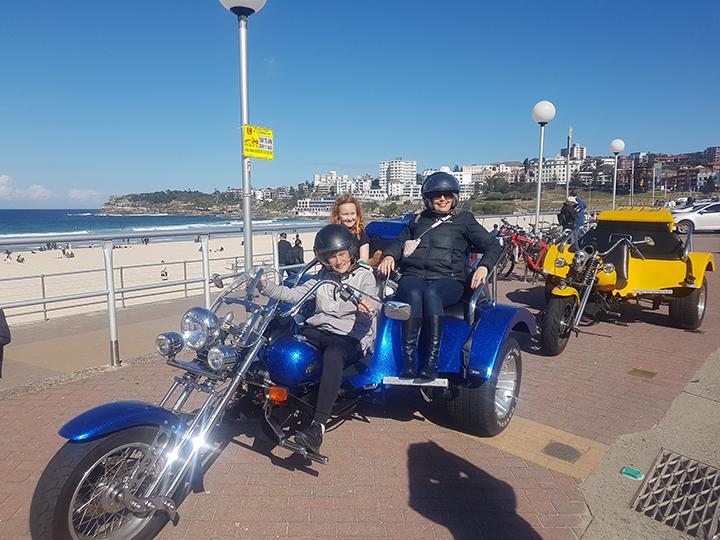 trike tour Bondi Beach